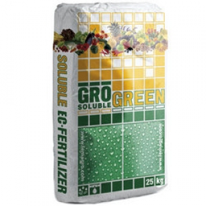 Удобрение ГроГрин NPK (14-7-28+5СаО+TE) Фрукт (GroGreen NPK Fruit), 25 кг